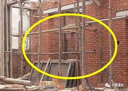 农村自建房砖混结构施工常见错误这么多?不要明知故犯
