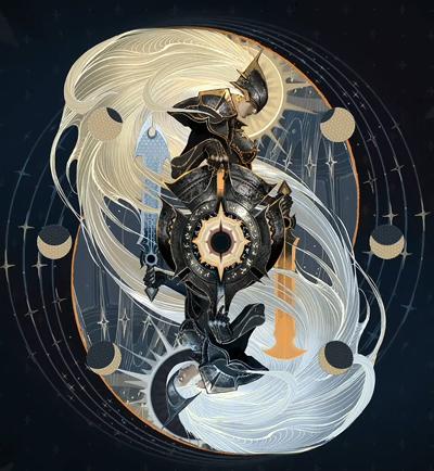 魔幻风格系列皮肤宇宙 孤独骑士蕾欧娜