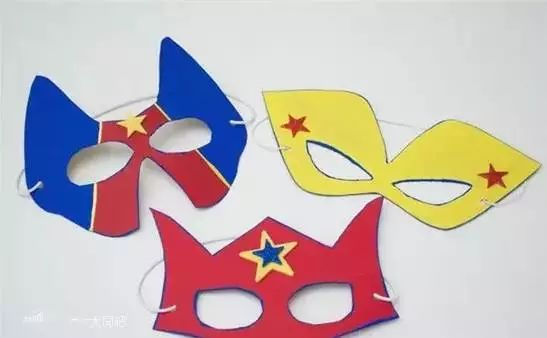 万圣节必备手工面具制作大全,万圣节必备!图片