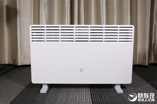簡約高顏值!299元米家電暖器圖賞