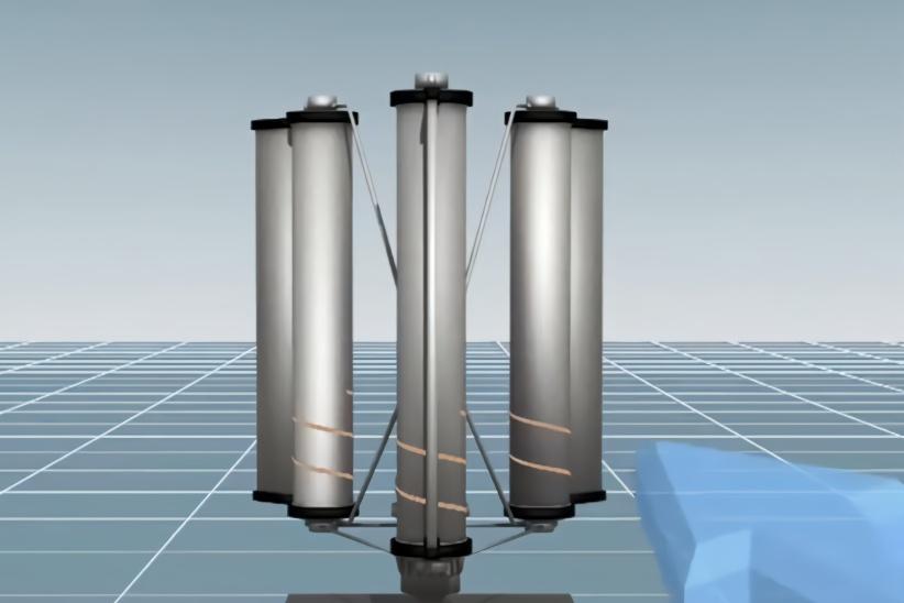 日本小伙发明台风发电设备,一场台风产生的电能,够日本用50年