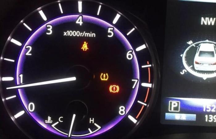 仪表盘上的4个安全灯,亮起务必就近停车,否则车毁事小伤人事大