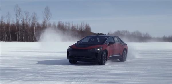 Faraday Future官方发布了FF91的冰雪测试视频