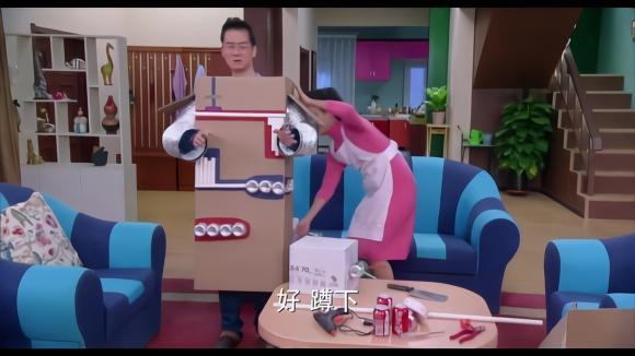 紙箱diy兒童房子