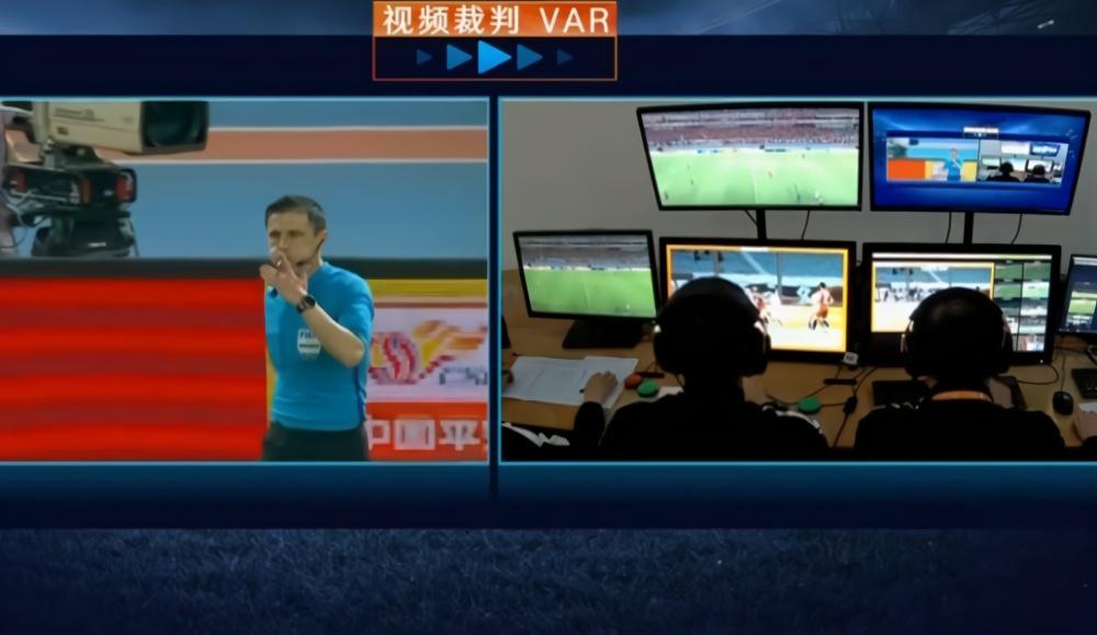 中超的VAR就是一个视频回放系统,更管用的鹰眼足协因价高没引进