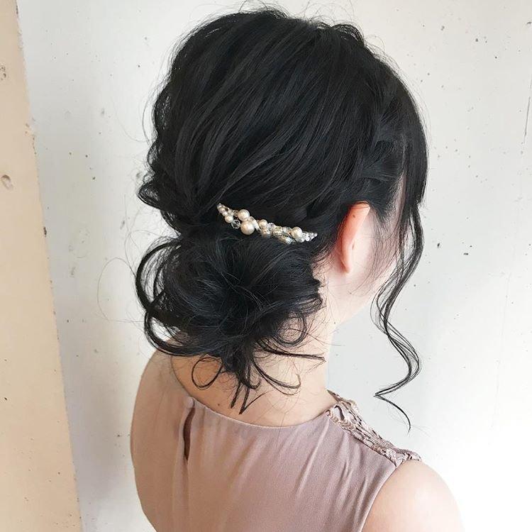 拉丝编发发型,长发这样编高贵有气质