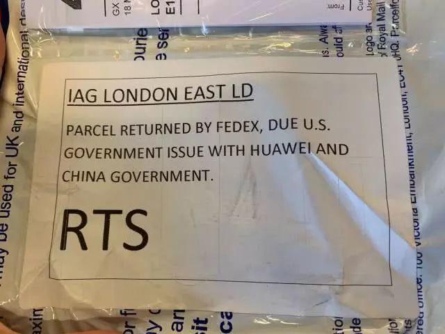 美国一杂志编辑邮寄华为手机,被联邦快递拒绝投递