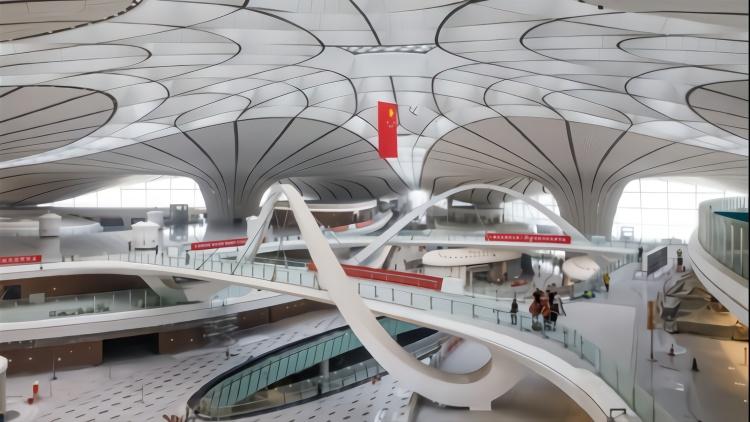 北京大兴国际机场主要工程竣工