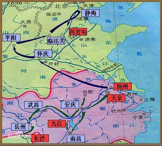 太平军2万精锐北伐,打到天津全军覆没,四大原因注定无法取胜