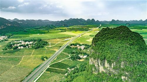 贵港至隆安高速公路通车 毗连宾阳县、隆