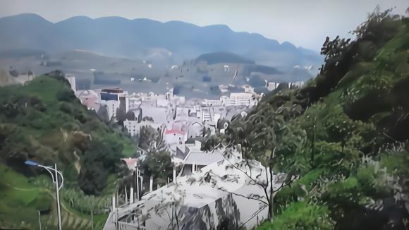 以勒风光,风景独特,又是东半县的早码头,镇雄县新恒传媒摄制