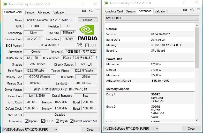 4599元体验RTX 2080的性能!七彩虹iGame RTX 2070 Super Vulcan X OC评测