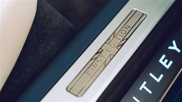 W12缸硬货!宾利全新飞驰限量版官图发布:钻石立标 3.7秒破百