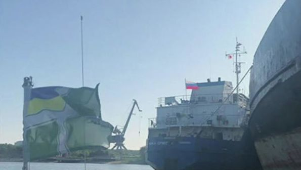 被乌克兰扣留的俄油轮船员获释