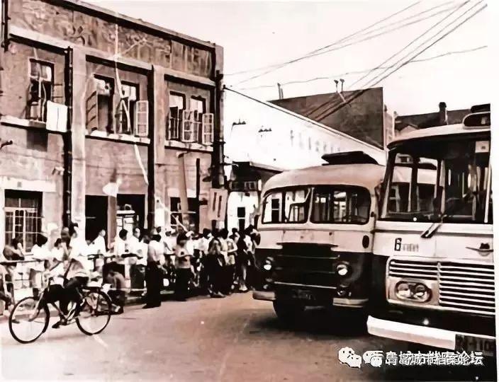 6路公交车的时光记忆,青岛沿海第一条公交线路的风雨历程