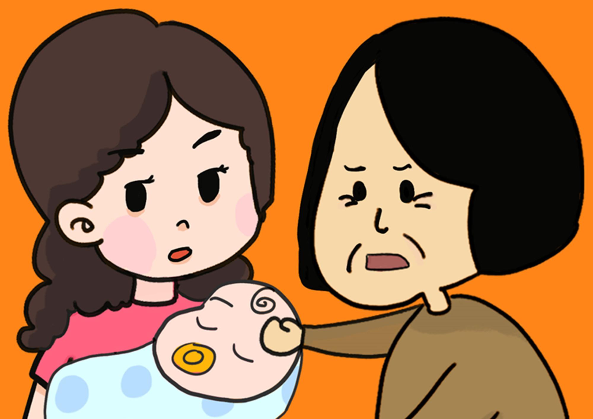"""老人带孩子还分""""真疼假疼""""?宝妈一句话惹争议,网友不淡定了"""