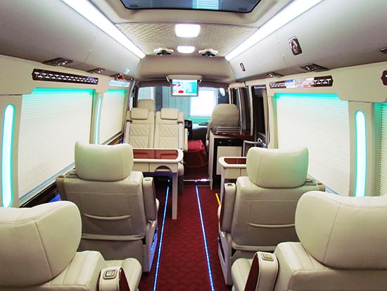 商务车的全新概念 丰田考斯特改装配置