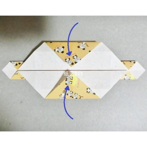 实用手提包盒子篮子折纸教程-小孩子们时尚潮气必备
