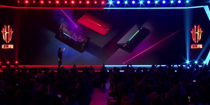 10G内存!红魔Mars电竞手机发布,首发视频体验