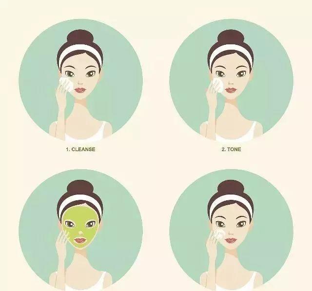 从零开始教你保养皮肤,新手正确的护肤和化妆步骤!