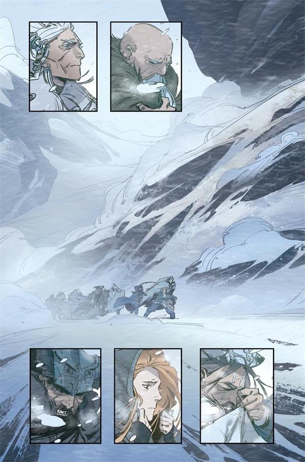 英雄联盟官方漫画 艾希:战母开启连载