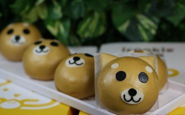美食| 台湾17种动物造型萌翻柴犬,兔兔一口吃下
