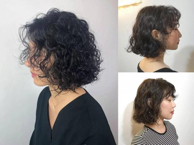 适合40岁中年女人的烫发图片,第3款特别a女人,发圆脸发型发型中长2015女图片