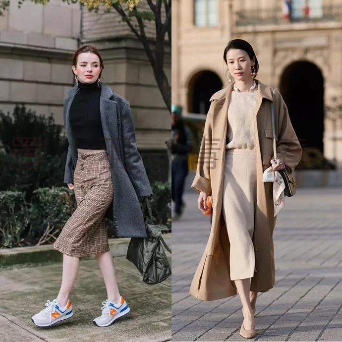 冬季穿长裙,配什么外套好看?