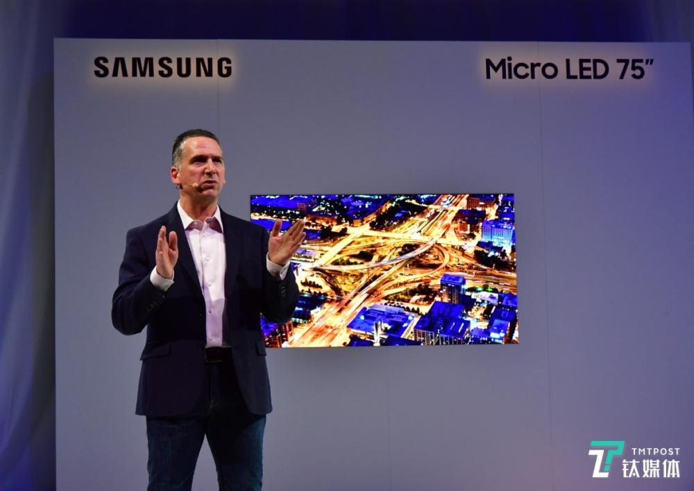 三星发布Micro LED电视及未来人工智能平台