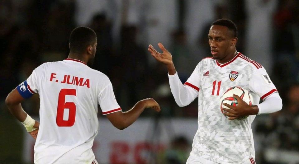 亚洲杯A组最新出线形势:阿联酋第一力压印度 垫底队也有希望