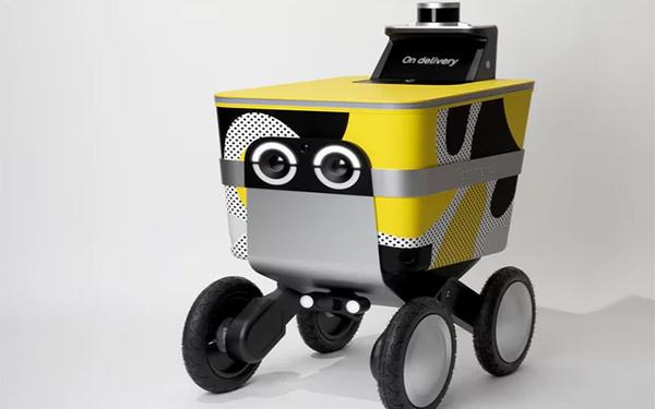 送货机器人惨遭嫌弃 Postmates想把它做得更可爱些