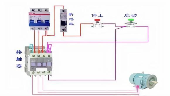 接触器自锁电路图怎么识图?电工师傅通俗讲解教给你,准能学会