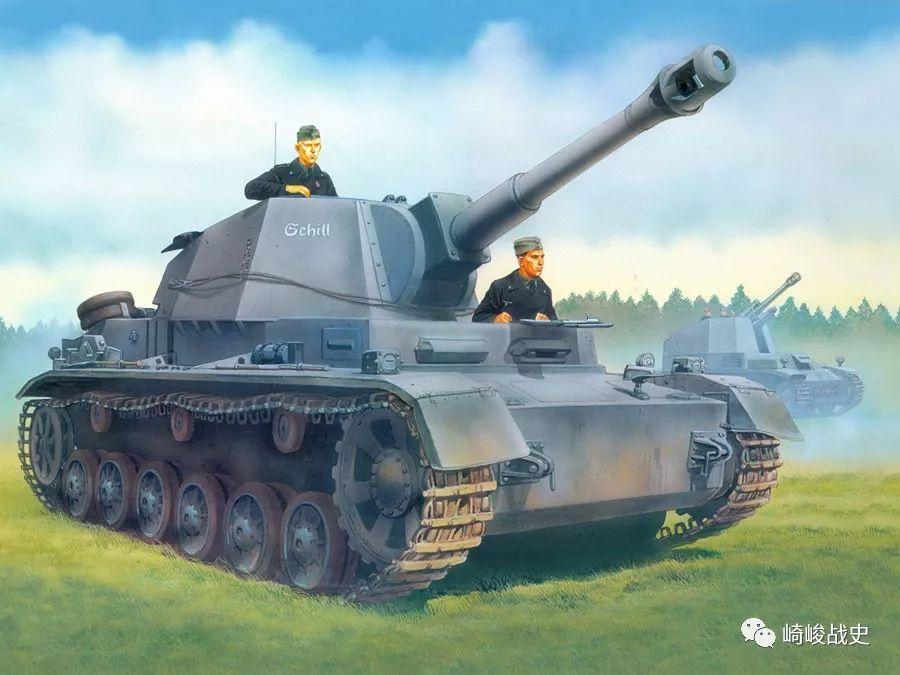 自行火炮 未孵之蛹:二战德军Pz.Sfl.IVb型105毫米自行火炮小史