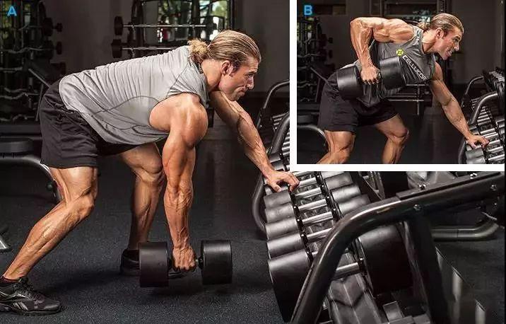 想要拥有像姐夫一样的背部,一定不要错过这个动作!