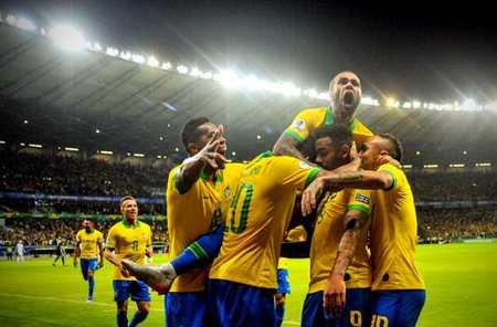 巴西2-0阿根廷 挺進本土美洲杯決賽