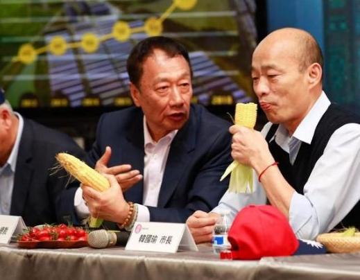 韩国瑜:2020若输,国民党或土崩瓦解