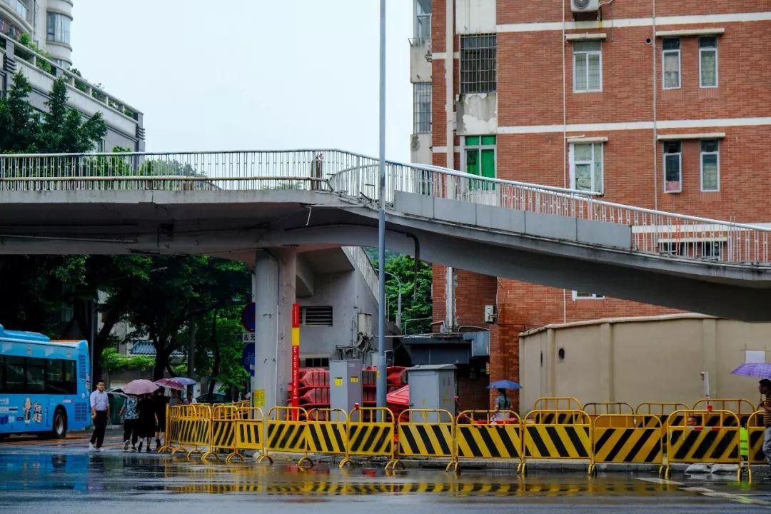 广州市中心这座人行天桥将拆除,车辆怎么绕行?看这里…