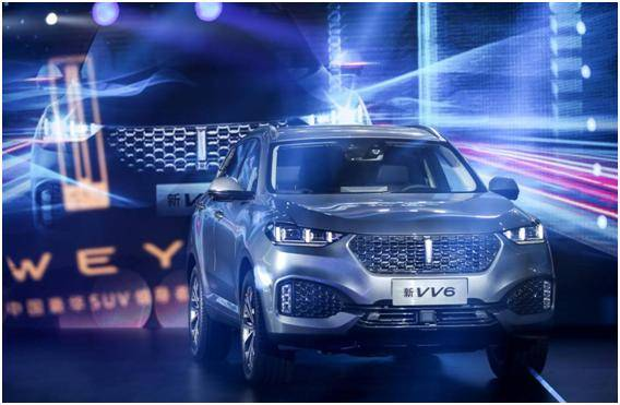 WEY 2020款VV6越级登场,发动机技术碾压创驰蓝天科技