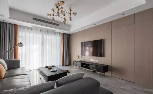 9种电视背景墙设计方案,每一种都比大白墙好看