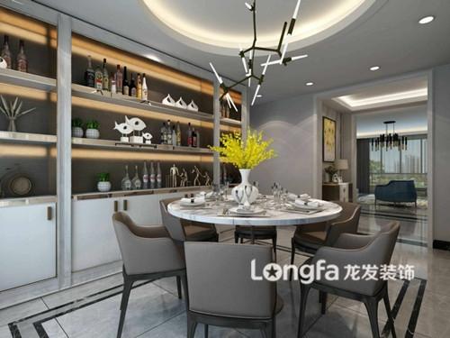 中正锦城186平米现代轻奢风格装修效果图