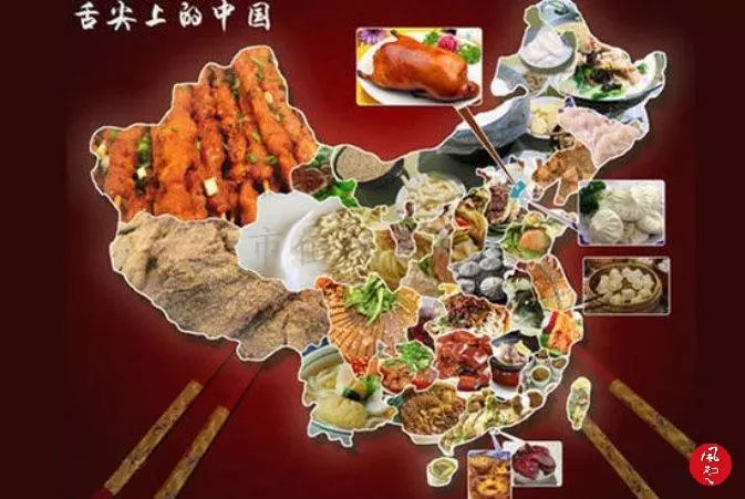 (拼图:舌尖上的中国的多张美食图片)图片