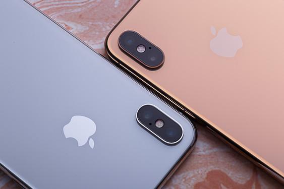 iPhone XS Max和iPhone X