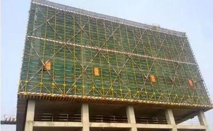 悬挑脚手架施工前应方案编制设计专项,必须有施工图和施工计算书,且地下室天井墙设计图图片