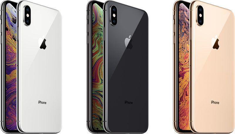 iphone xs 和 iphone xs max 是 iphone x 的继任者,使用不锈钢边框