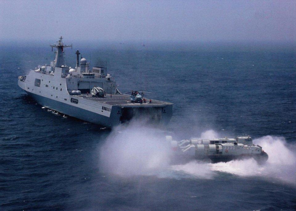 第7艘071船坞登陆舰已下水,传闻已久的075为何还没现身?