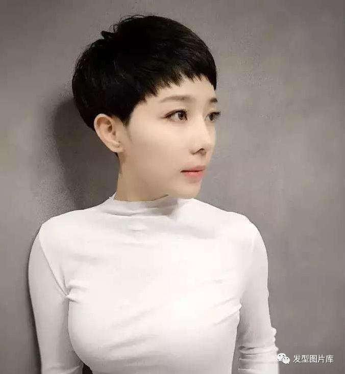 超短发发型图片女_干练气质短发发型图片图片