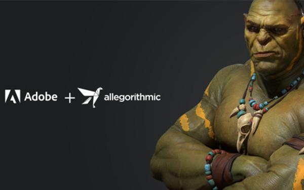 Adobe收购Allegorithmic 应用其技术准备在3D领域发力