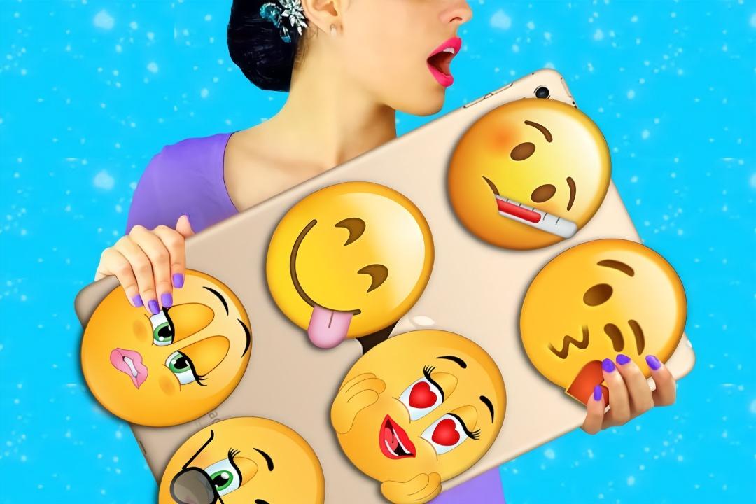 爆笑套路恶作剧,小姐姐手工diy表情符号,减压玩具创意无限