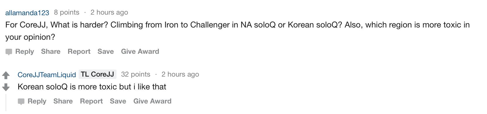 TL创始人及CoreJJ 作客reddit问答环节