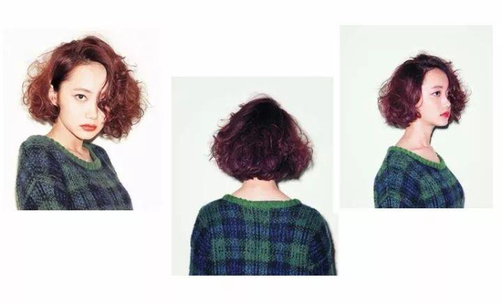 但是在自然卷的层次上注入烫发的活力,瞬间造型就不一样了哦,但是短发图片